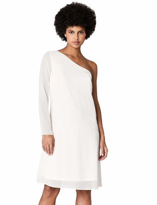 Amazon Brand - TRUTH & FABLE Womens Dress Maxi Keyhole