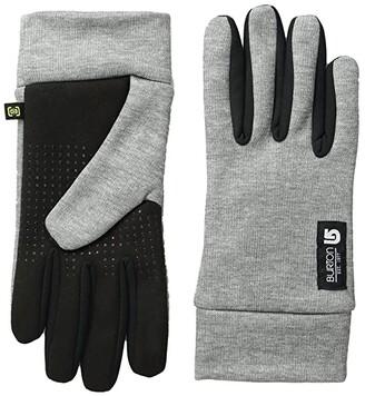 Burton Touch N Go Glove (Heathered Grey) Extreme Cold Weather Gloves