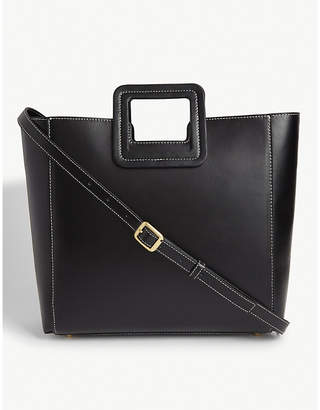 STAUD Leather Shirley tote bag