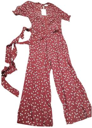 Faithfull The Brand \N Burgundy Jumpsuit for Women