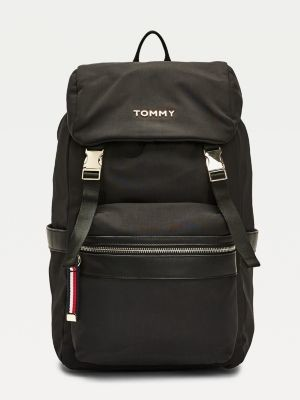 Tommy Hilfiger Nylon Metal Logo Backpack