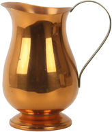One Kings Lane Vintage Copper Pitcher with Brass Handle