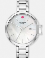 Kate Spade Park Row Silver-Tone Analogue Watch
