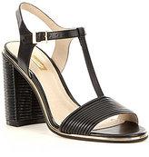 Louise et Cie Gabbin T-Strap Block Heel Dress Sandals