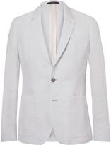 Paul Smith Blue Soho Slim-Fit Linen-Blend Suit Jacket
