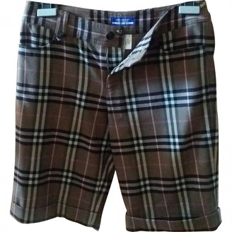 Burberry Other Wool Shorts