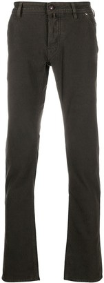 Jacob Cohen Mid-Rise Straight Jeans