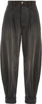 Isabel Marant Netery oversized wide-leg cotton jeans