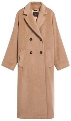 Max Mara Long Teddy Coat