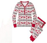 The Bazaar R XMAS Aduts Famiy Pajama Set Christmas Snowfake Deer Design Party Seepwear Gift