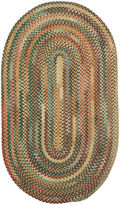 JCPenney Capel Inc. Capel American Traditions Braided Wool Oval Rug