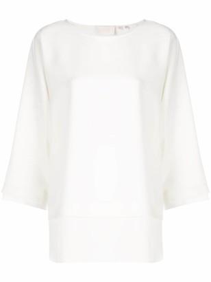 Bamford Watch Department boat neck blouse