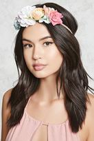 Forever 21 Floral Braided Headband
