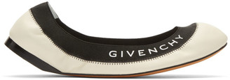 Givenchy Off-White Millie Ballerina Flats