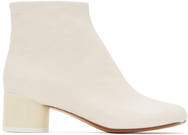 MM6 MAISON MARGIELA Off-White Ankle