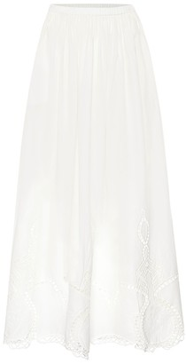 Rhode Resort Owen cotton maxi skirt
