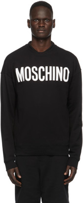 Moschino Black Logo Sweatshirt