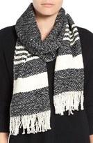 Eileen Fisher Handwoven Organic Cotton Scarf