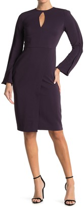 Reiss Anouk Slim Cutout Fitted Dress