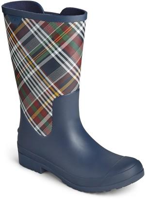 Sperry Walker Mid Print Rain Boot