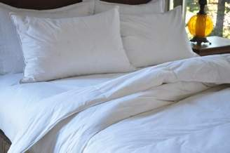 Natural Comfort Goose Down Feather Comforter and Pillow