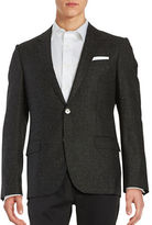 HUGO Textured Wool-Blend Jacket