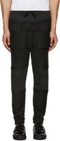 Alexandre Plokhov Black Panelled Lounge Pants