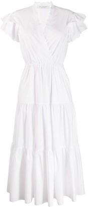 Philosophy di Lorenzo Serafini Wrap Style Shirt Dress
