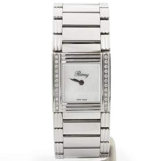 Poiray Ma Premiere Silver Steel Watches