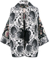 Antonio Marras paisley tied jacket - women - Polyester/Viscose - 40