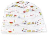 Kissy Kissy Red Caboose Pima Baby Hat