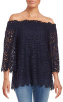 Rachel Zoe Off-the-Shoulder Lace Top