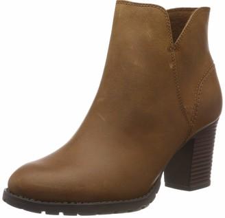 Clarks Women's Verona Trish Slouch Boots Brown (Dark TanLea) 5.5 UK (39 EU)