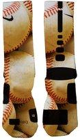 Just Sockz Custom Nike Elite Pitch Out socks