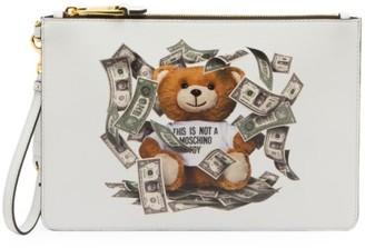 Moschino Dollar Bear Pouch