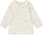 Petit Bateau Baby girls frilled collar blouse