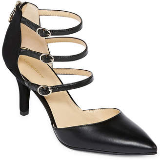 Liz Claiborne Womens Hara Pumps Pointed Toe Spike Heel