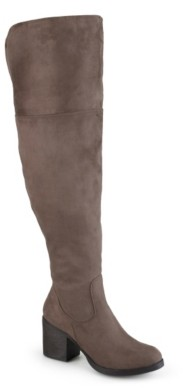 Journee Collection Sana Wide Calf Thigh High Boot