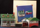 Hallmark Grandmother's House and Covered Bridge Town and country #4 in series 2002 ornament
