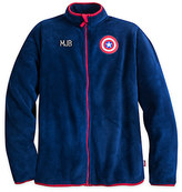 Disney Captain America Fleece Jacket for Men - Personalizable