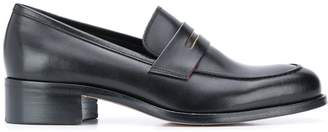 Paul Smith colour trimmed loafers