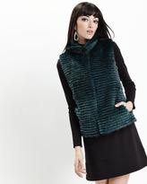 Nicole Miller Mock-Neck Ponte A-Line Dress, Black