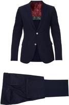Gucci Monaco seersucker-silk suit