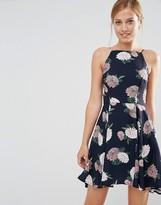 Keepsake Floral Print Strappy Dress