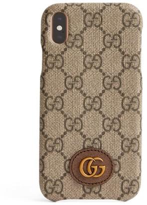Gucci Gg Supreme Canvas Iphone Xr Case