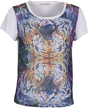 DDP PORIX women's T shirt in Multicolour