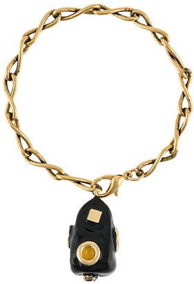 Marni Asymmetric Charm Bracelet
