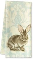 Williams-Sonoma Williams Sonoma Damask Bunny Kitchen Towels, Set of 2