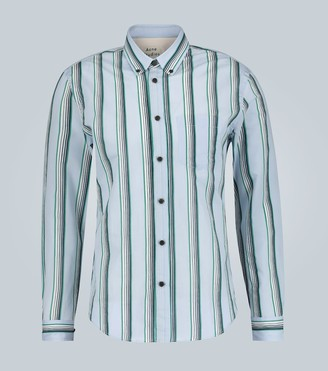 Acne Studios Sarkis striped long-sleeved shirt