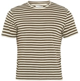 Solid & Striped The Striped cotton-blend T-shirt